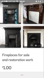 Fireplaces for sale or refurbished for you