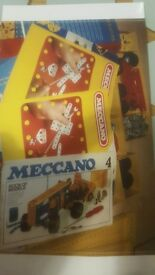 Meccano box sets with manuals