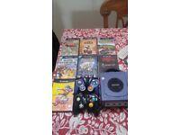 Nintendo Gamecube with games