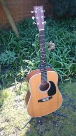 Martin D28 Hard Martin Case Fitted Pick Up.