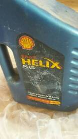 Shell helix plus oil. . 4 litre brand new