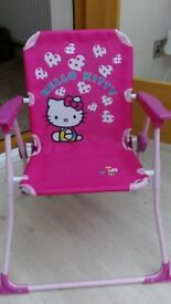 Childrens Hello Kitty chair box of 6 brand new chairs