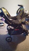 Baby trend carseat/stroller combo