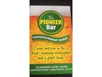 ******The pioneer bar*******