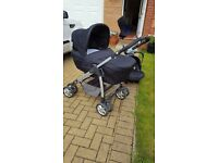 Excellent condition Silver Cross Travel System and Accessories