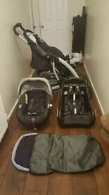 3 in 1 Mothercare Pushchair
