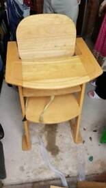 solid wood high chair for kids open to offers made form solid wood.