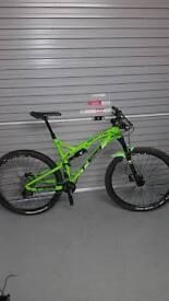 Whyte full suspension Mountain bike