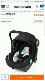 Silver cross car seat with isofix