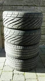 195/50/15 82 V tyres x4 yokohama Michelin