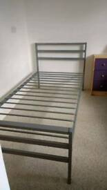 Bed frame single