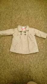Mini club herringbone coat