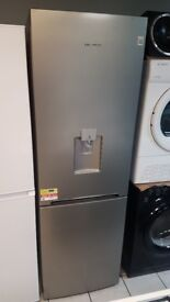 BRAND NEW DAEWOO RN37DS 60/40 Silver Fridge Freezer with WARRANTY