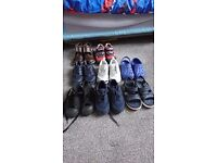 Boys trainers and shoes size 9
