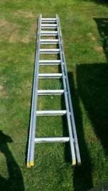 Double extension ladders - 2 months old like brand new.