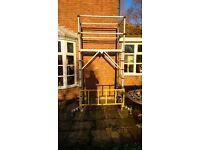 Zarges TT001 Teletower Telescopic Scaffolding - £480