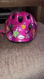 Girls small bike helmet