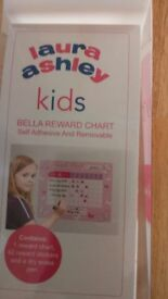 Laura Ashley Kids Reward Chart - New in Box