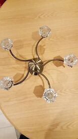Beautiful ceiling light. Not very old and working perfectly.