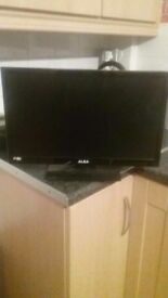 Alba 19 inch tv with dvd player