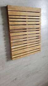 Habitat wooden bath mat
