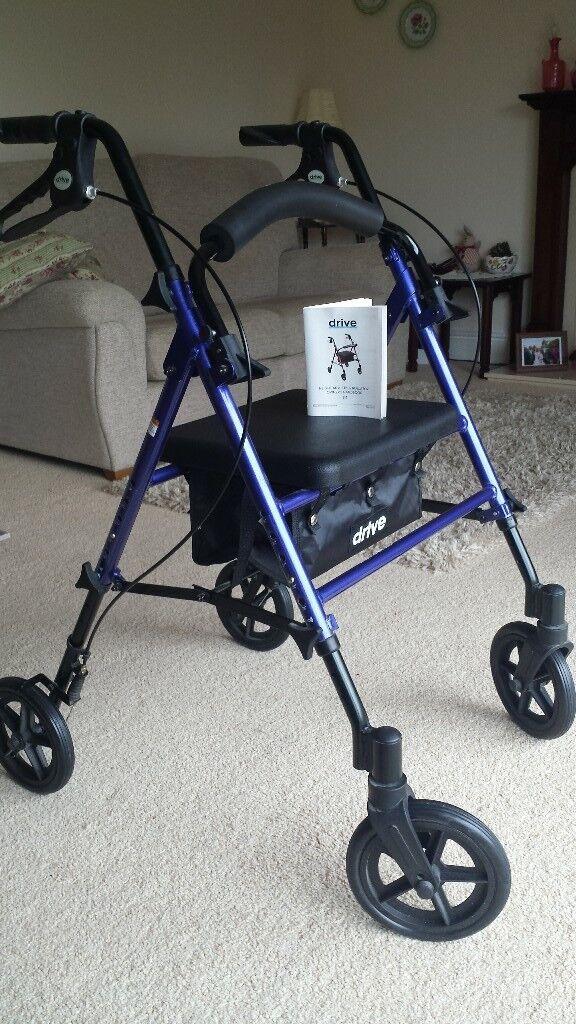 4 wheel,mobility walker
