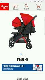 Fisher price travel system pushchair and car seat