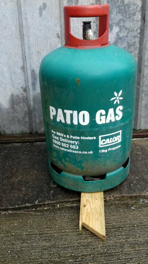 empty calor patio gas bottle for bbq and patio heaters. Black Bedroom Furniture Sets. Home Design Ideas
