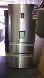 BEKO 3 doors water dispenser American fridge freezer
