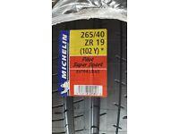2 BRAND NEW Michelin Pilot Super Sport Tyres 265/40 ZR 19 102Y