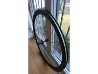Carbon road bike wheelset 700C 10/11 speed 38mm Excellent Condition