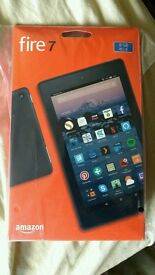 New sealed 2017 Amazon fire hd 7 8gb rrp £50
