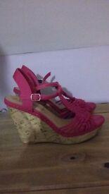 Size 6 Wedge Sandal