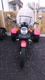 rare bonneville t 100 trike for sale