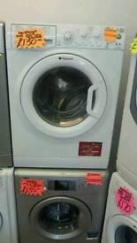 HOTPOINT 6 KG 1200 SPIN WASHING MACHINE IN WHITE