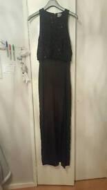 Black formal dress size 14