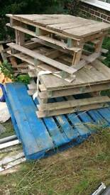 Pallets to pick up