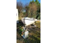 Orkney 13ft snype trailer. Good stable boat £800 ono