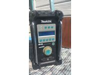 Makita Site DIGITAL Radio BMR101 DAB BLUE 240V 7.2-18v