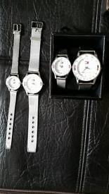 Tommy hilfiger watches set new boxed