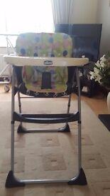 High Chair - Chicco Seventy design