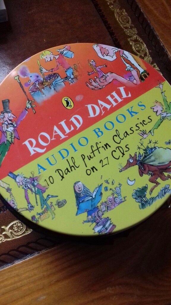 27 CD AUDIO BOOK ROALD DAHL CLASSICS