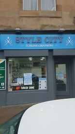 A turkish barber shop