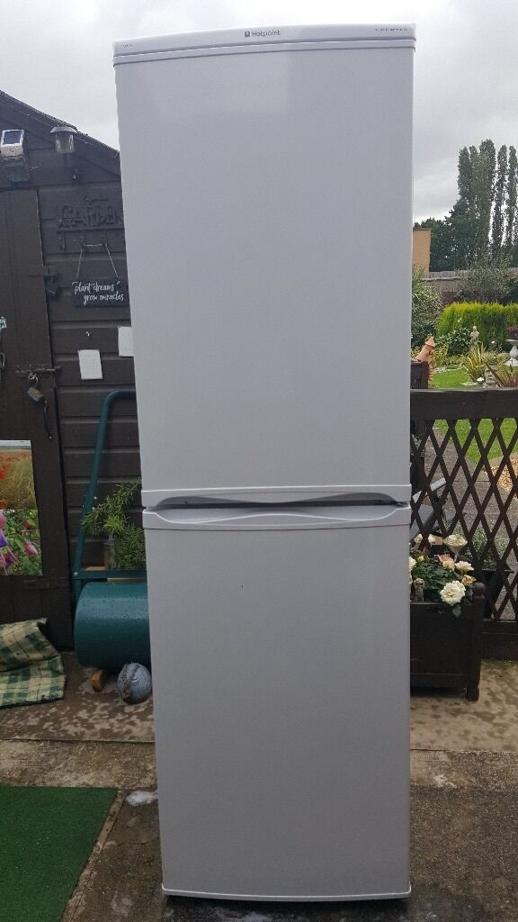 Fridge freezerin Leicester, LeicestershireGumtree - Hotpoint ice diamond Fridge freezer.working order.reason for sale.replaced with chest freezer.asking £30 as its in way and need it gone.few miner knocks.buyer to collect