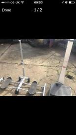 Gym fitness Vibrating Plate leg machine