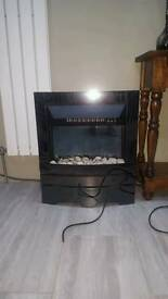Stylish Electric Fireplace Fire Excellent Condition