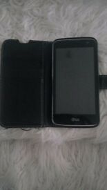 Lg k4 mobile with all accessories