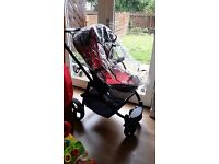 5 pieces in 1 Travel System- very good condition