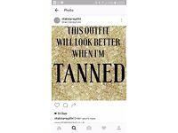 Spray tans, acrylic nails and shellac