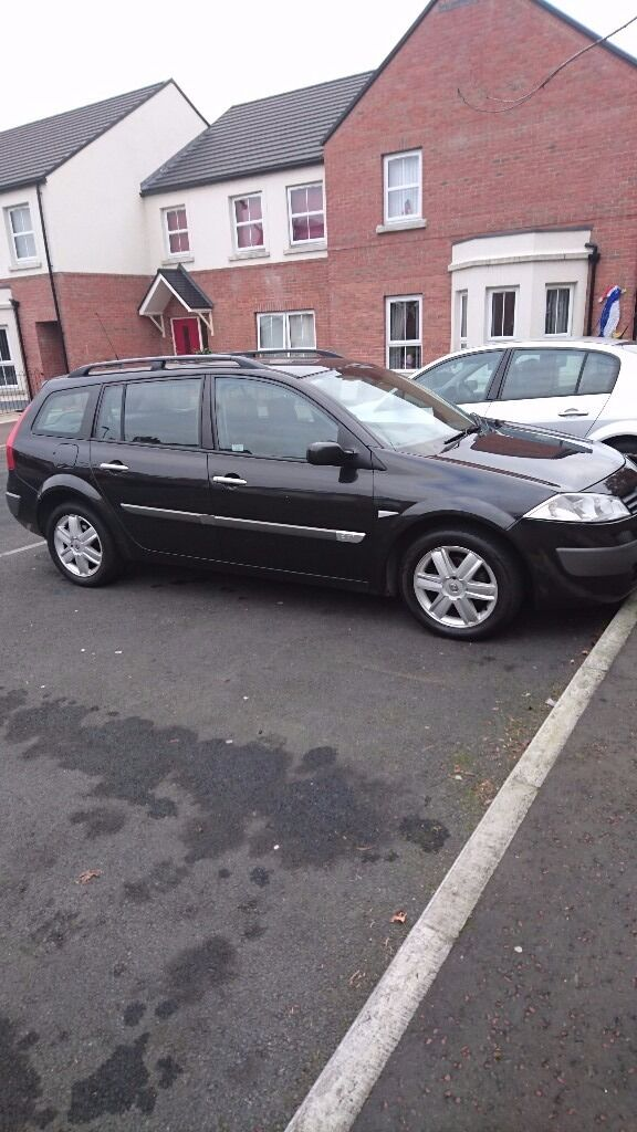 Renault Megane Estate 1.5 Diesel Car Black
